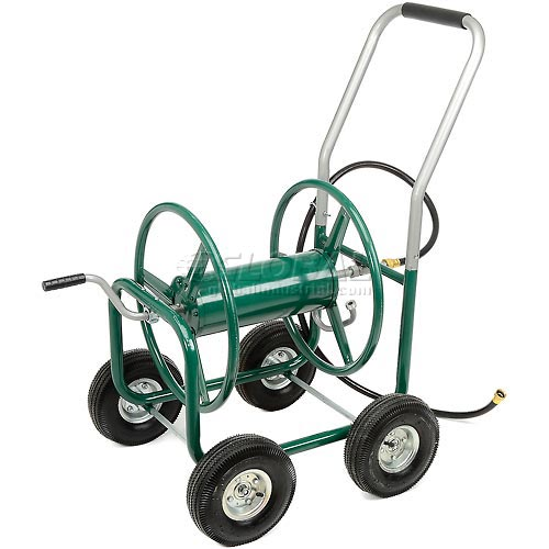 High-capacity Garden Hose Wagon (Garden Hose Not Included) by