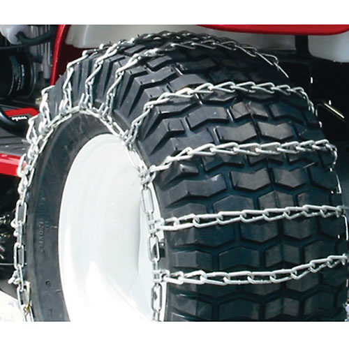 Maxtrac Snow Blower/Garden Tractor Tire Chains, 2 Link Spacing (Pair) 1062656 by