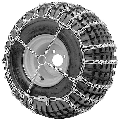 ATV V-BAR Tire Chains, 2 Link Spacing (Pair) 1064556 by