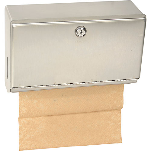 Bobrick ClassicSeries Horizontal Towel Dispenser w/ Tumbler Lock 26212 by