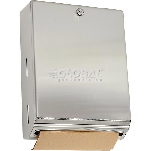 Bobrick ClassicSeries Vertical Paper Towel Dispenser w/Tumbler Lock B-262 by