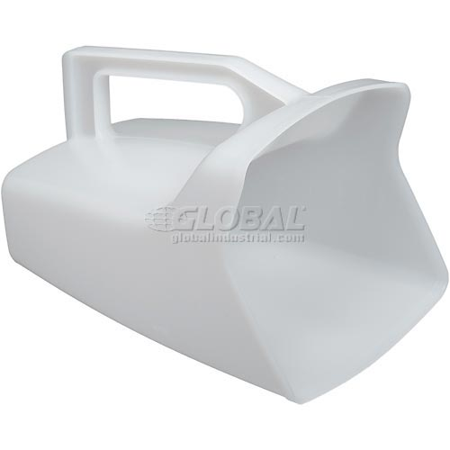 Rubbermaid Commercial 2885, Utility Scoop, 64 Oz. Capacity, White by
