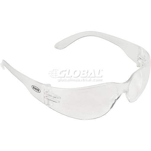 Buy IProtect Safety Glasses, ERB Safety 17510 Clear Frame, Clear Anti-Fog Lens