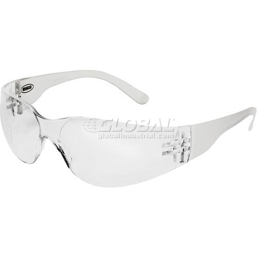 Buy IProtect Safety Glasses, ERB Safety 17940 Clear Frame, Clear Lens