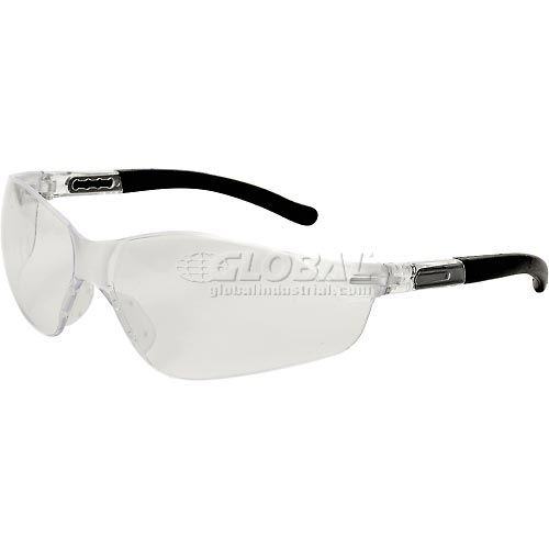 Buy Inhibitor Safety Glasses, ERB Safety, 17969 Clear Frame, Clear Lens