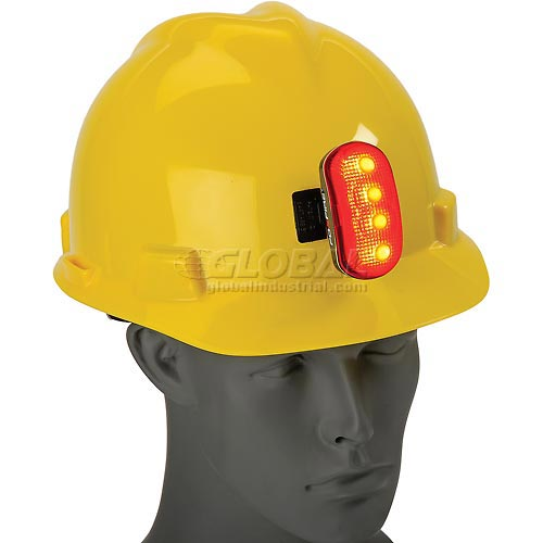 Hardhat Safety Light, ERB Safety 10031 Red by