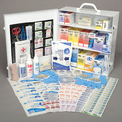 Pac-Kit 3-Shelf Industrial First Aid Station from First Aid