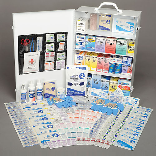 Pac-Kit 4-Shelf Industrial First Aid Station