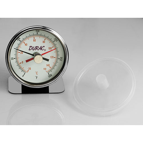 H-B B60215-0000 DURAC Maximum Registering/Autoclave Bi-Metal Thermometer Package Count 3 by