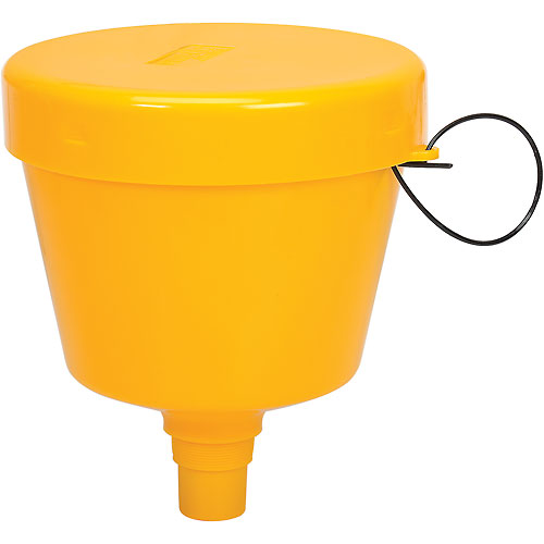 """Wirthco Funnel King 8 Qt. E-Z Smart Drum Funnel 32015 with 2"""" Threads by"""