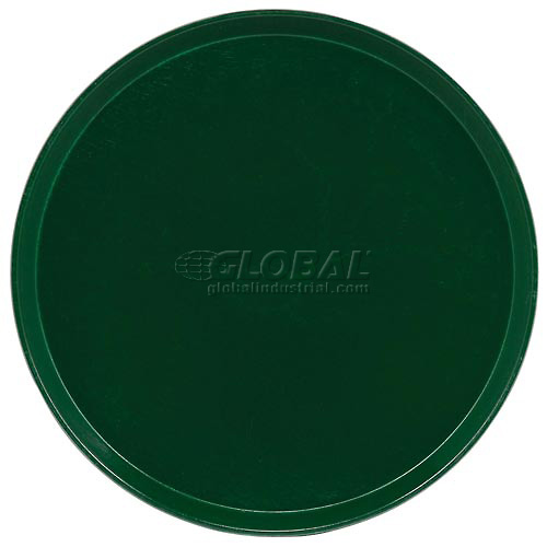 "Buy Cambro 1950119 Camtray 19.5"" Round Low, Sherwood Green Package Count 12"