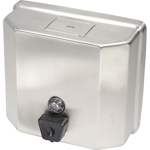 Frost Wall Mount Manual Profile Liquid Soap Dispenser Stainless 711 by