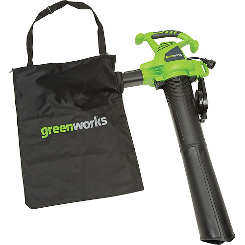 GreenWorks 150/235MPH Corded Blower / Vac by