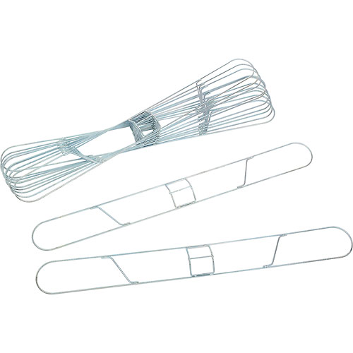 Impact Dust Mop Frame Standard Clip On, Galvanized, 5 X 48, 99548 Package Count 12 by