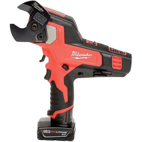 Milwaukee 2472-21XC M12 Cordless Cable Cutter Kit by