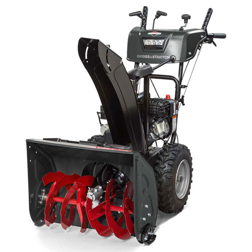"Briggs & Stratton 24"" Medium-Duty Snow Thrower 1024MDS Dual Stage, 208cc. Gas with... by"