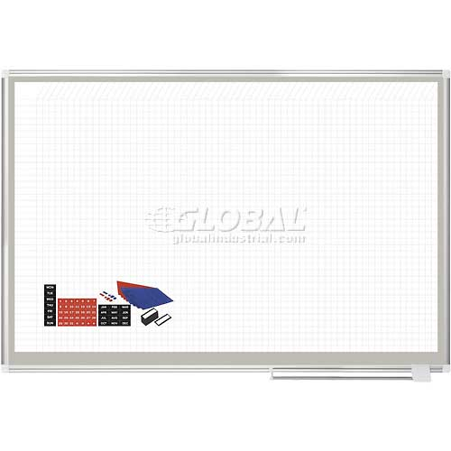 "Magnetic Planning Board Kit 72""W x 48""H Steel Surface by"