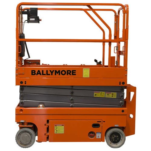 Ballymore Drivable Scissor Lift 45' Platform, 500 Lb. Capacity DSL-45 by