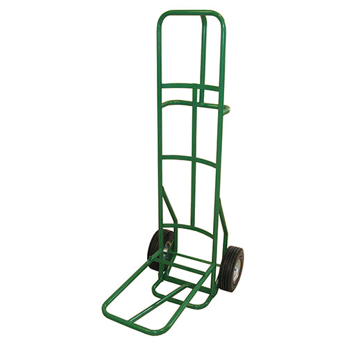 """Fairbanks Dolly for Stacking Chairs 10"""" Full Pneumatic Wheels Green 12 Chair Capacity by"""