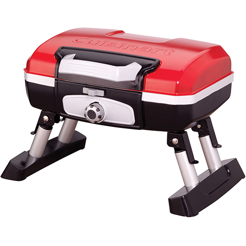 Cuisinart Petit Gourmet Portable Outdoor Tabletop LP Gas Grill by