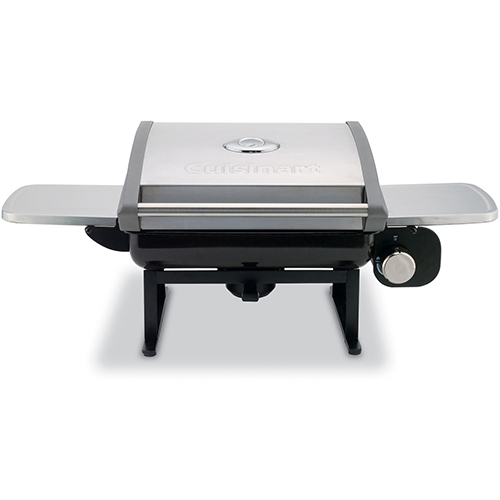 Cuisinart All-Foods Outdoor Tabletop LP Gas Grill w/ Veggie Panel by