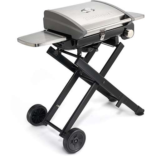 Cuisinart All-Foods Roll-Away Portable Outdoor LP Gas Grill by