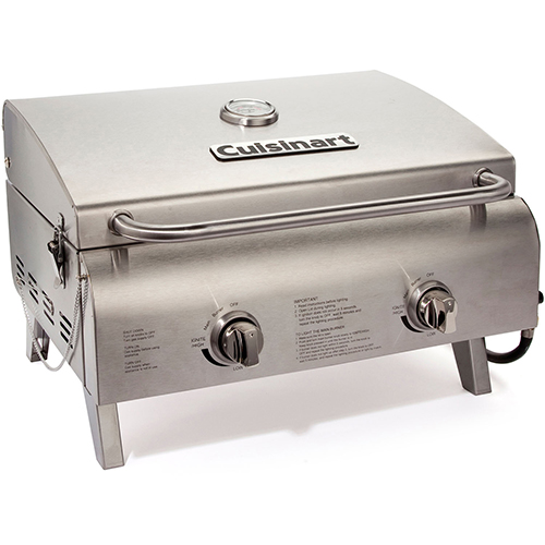 Cuisinart Chef's Style Outdoor Tabletop LP Gas Grill by