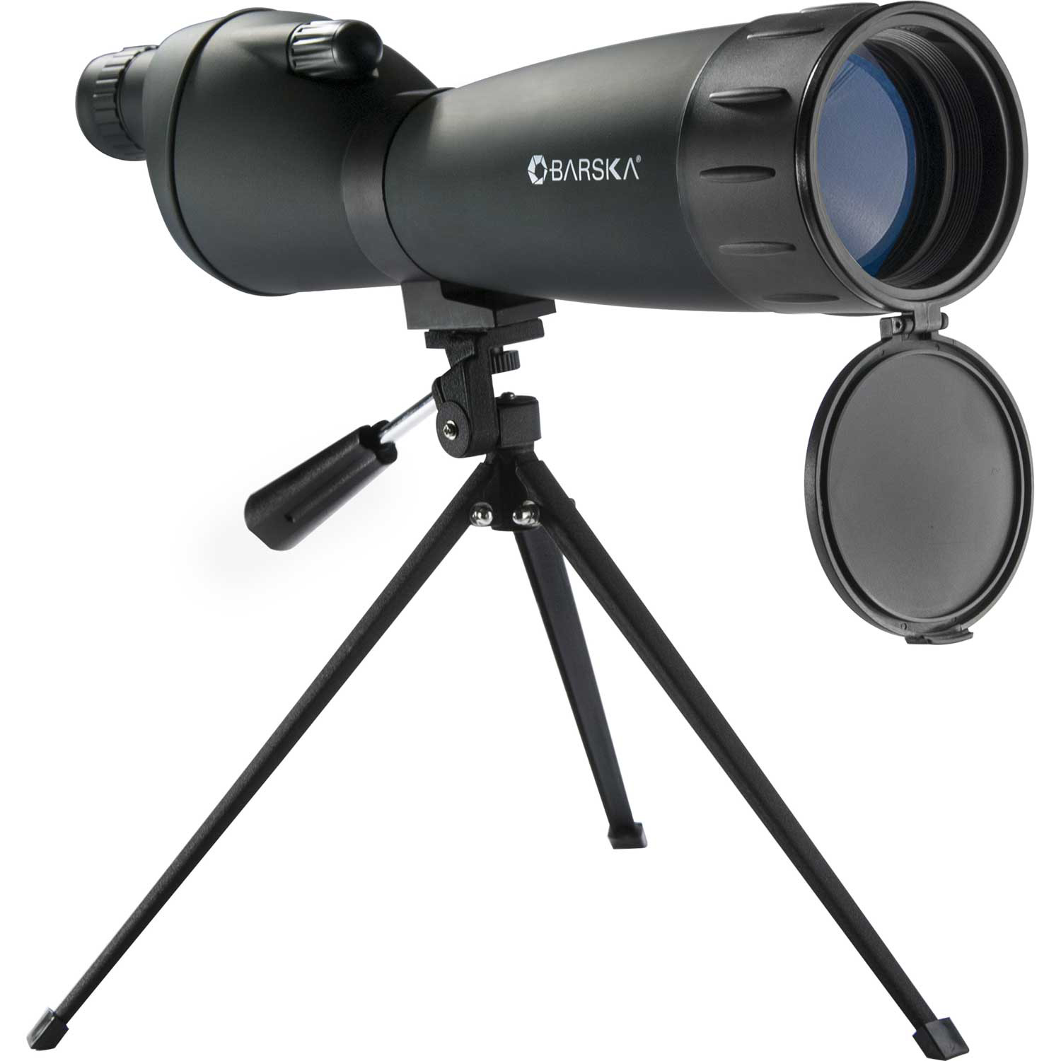 Click here to buy Barska CO10998 25-75x75 Colorado Straight Spotting Scope.