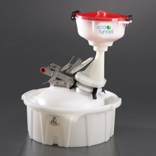"Click here to buy ECO Funnel EF-8-Justrite-B2-SYS 8"" ECO Funnel System, 2 Gal Safety Can & Secondary Container."