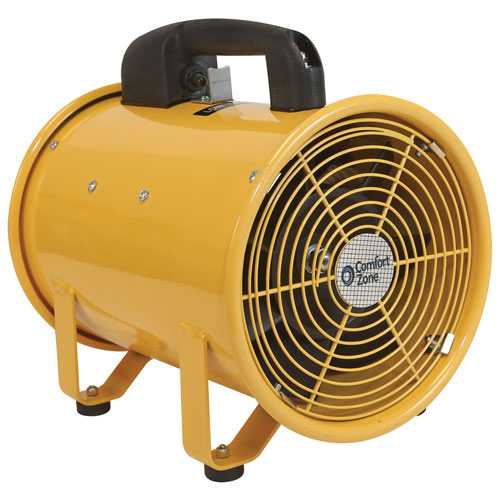 Comfort Zone CZBU80 Comfort Zone CZBU80, 8 Inch High-Output Utility Blower Fan Blower by