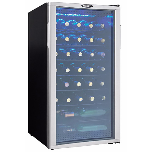 Click here to buy Danby DWC350BLPA 35 Bottle Wine Cooler.