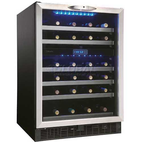 Click here to buy Danby DWC518BLS 51 Bottle, Built-In or Freestanding Wine Cooler.
