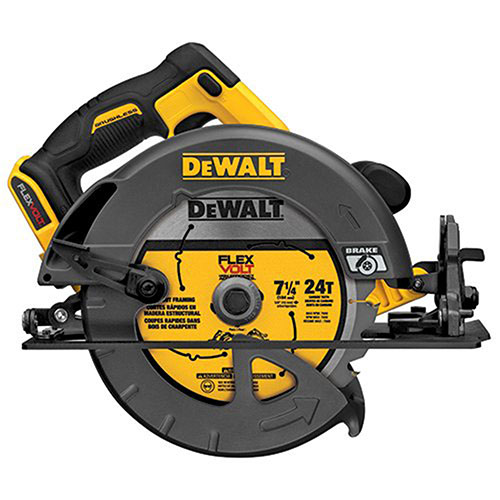 "DeWalt DCS575B Flexvolt 60V Max Bare Tool Brushless Circular Saw 7-1/4"" (..."