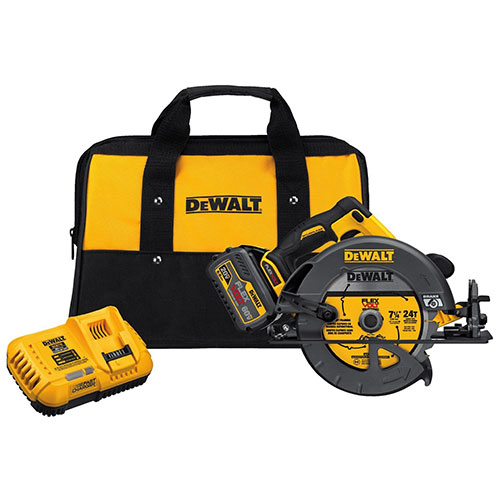 "DeWalt DCS575T1 Flexvolt 60V Max 7-1/4"" Brushless Circular Saw With Brake..."