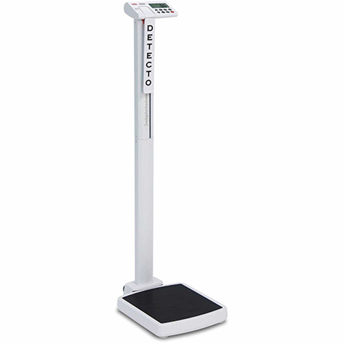 Detecto Solo Eye Level Digital Physician Scale 550X0.2lb/250 kg x 0.1 kg by