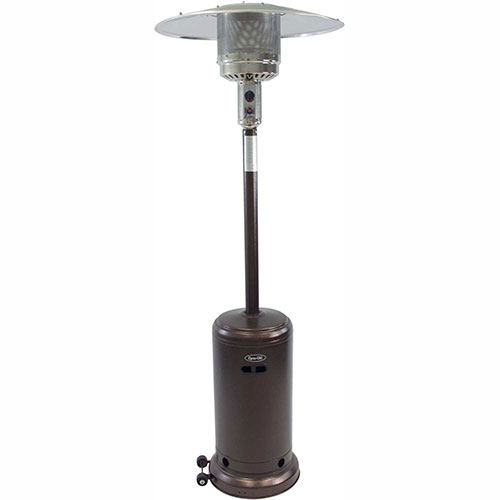 Dyna-Glo Deluxe Patio Heater DGPH101BR Propane 41000 BTU Hammered Bronze by