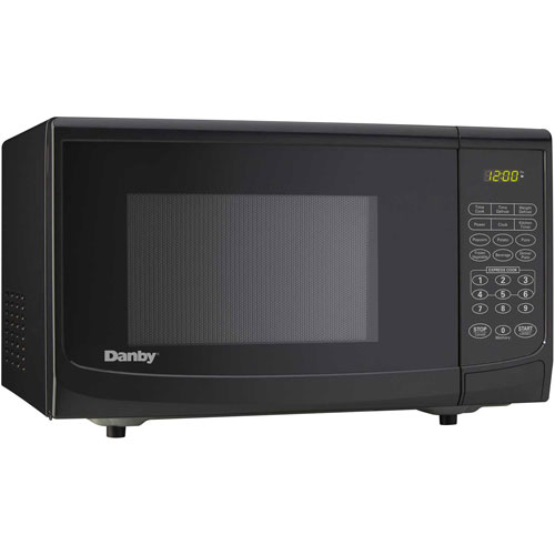 Danby DMW1110BLDB Microwave Oven 1.1 Cu. Ft. Black, 1000 Watts by