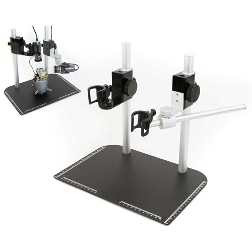 Buy Dino-Lite MS37B-27 Tabletop Stand with Dual Scope, Vertical & Horizontal Mount