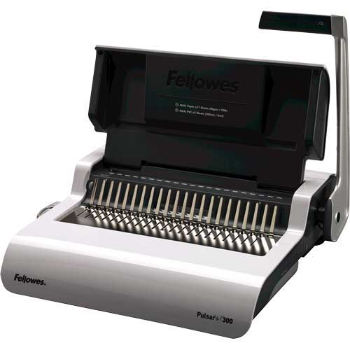 Buy Fellowes Pulsar+ 300 Manual Comb Binding Machine