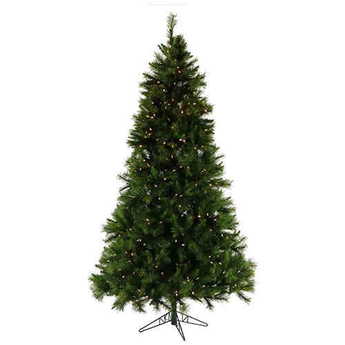 Fraser Hill Farm Artificial Christmas Tree 10 Ft. Canyon Pine Smart String Lighting by