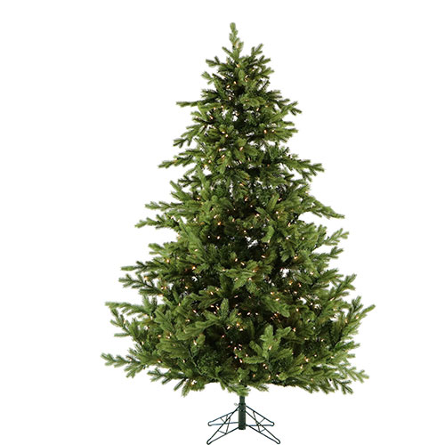 Fraser Hill Farm Artificial Christmas Tree 10 Ft. Southern Peace Pine Smart String Lighting by