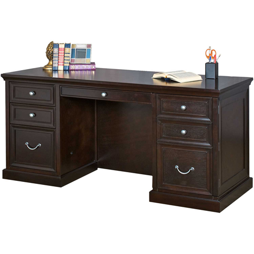 Martin Furniture Computer Credenza Fulton Office Series by