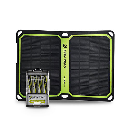 Goal Zero Guide 10 Plus Solar Recharging Kit with Nomad 7, 41022 by