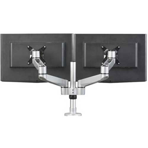 Buy RightAngle Hover Monitor Arms Post Mount for 2 Monitors w/2 Extension Brackets