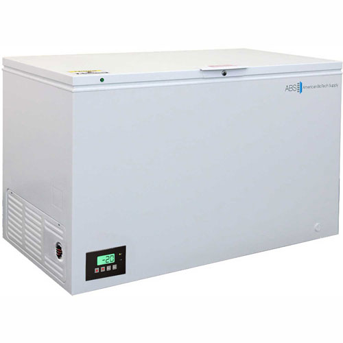 American Biotech Supply Premier Manual Defrost Chest Freezer ABT-MFP-16-C, 16 Cu. Ft. by