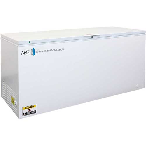 American Biotech Supply Standard Manual Defrost Chest Freezer ABT-MFS-22-C, 22 Cu. Ft. by