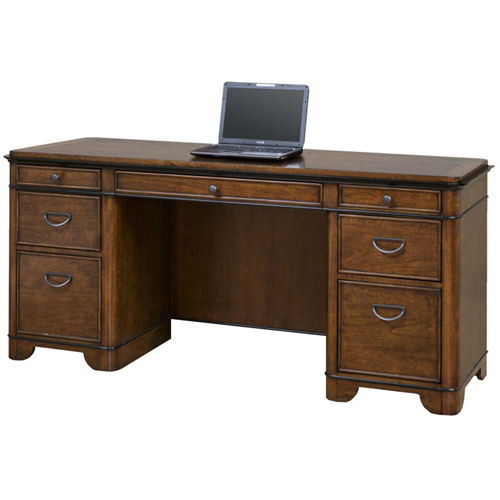 Martin Furniture Computer Credenza Kensington Series by