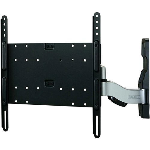 "Buy Dyconn Invisible XL Articulating Ultra Slim Dual Arm Wall Mount, for 26""-52"" Monitors"