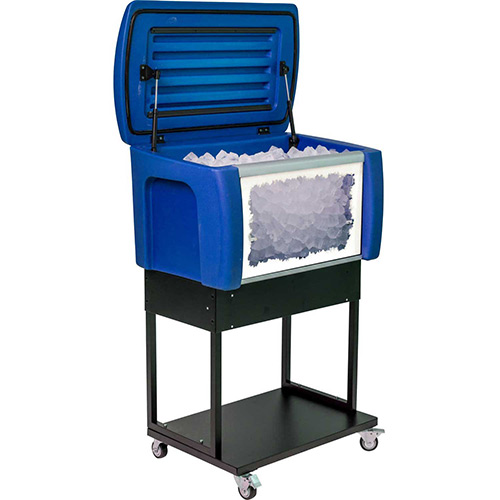 Click here to buy ISee 8002771, 18 Gallon Cooler-Blue.