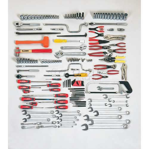 Proto J99491A 165Piece Intermediate Maintenance Tool Set With Top Chest J442719-10RD-D by